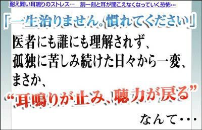■ サトウ式耳鳴り・難聴・めまい改善術 佐藤信雄 三半規管 病気 弱い 病院