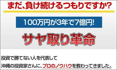 サヤ取り革命     【株式サヤ取りソフト】 山本和彦 株式投資 株価 入門 情報